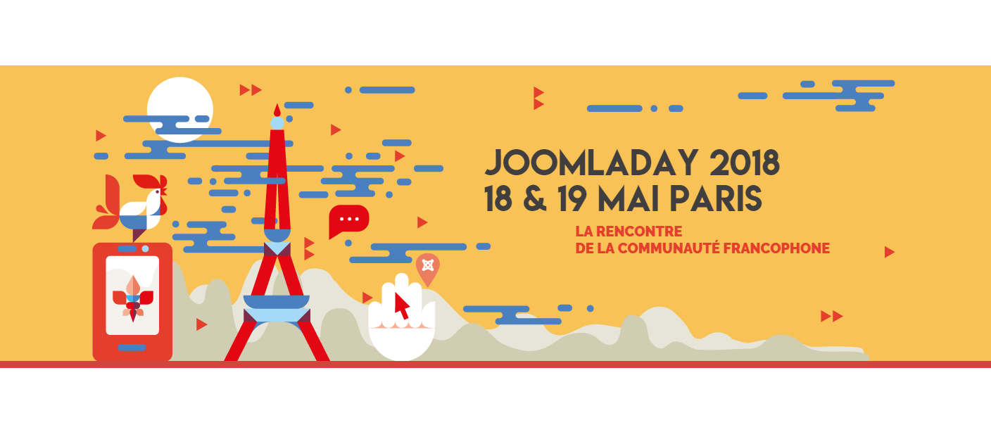 JoomlaDay France 2018 logo